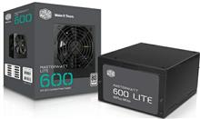 Cooler Master MasterWatt Lite 600W 80Plus White Power Supply
